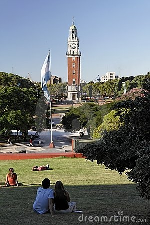 Free Plaza San Martin Buenos Aires Stock Photography - 2025062