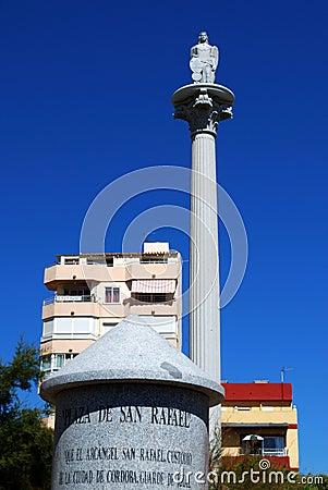 Plaza San Rafael, Fuengirola, Spain.