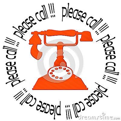 Please call !