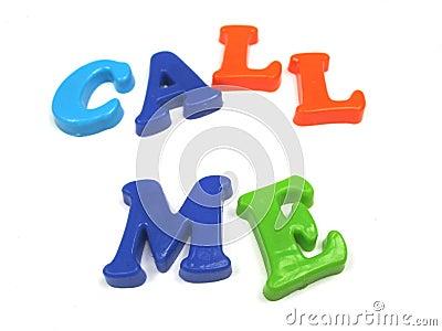 Please call me !