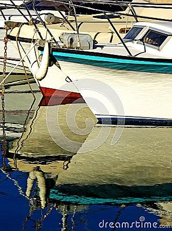 The pleasure boats