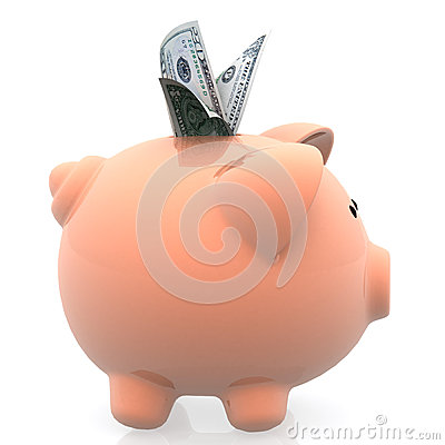 Plein piggybank 3D