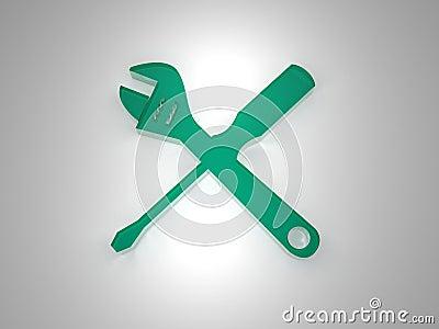 Plexi setup icon green