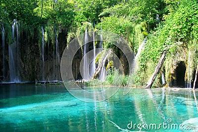 Plitvice lake waterfalls