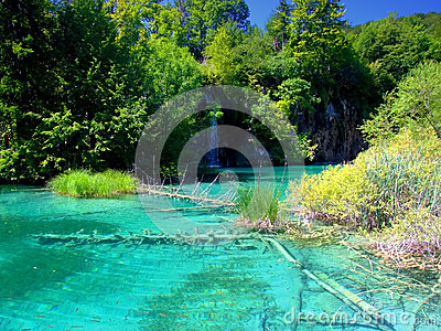 Plitvice Lakes National Park,Croatia