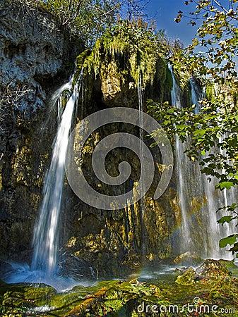 Plitvice Lakes Watterfall