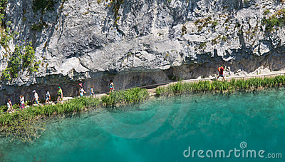 Plitvice National Park Editorial Image