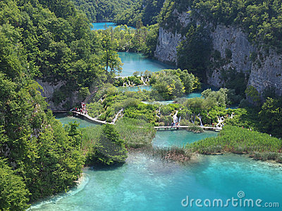 Plitvice National Park Editorial Photo