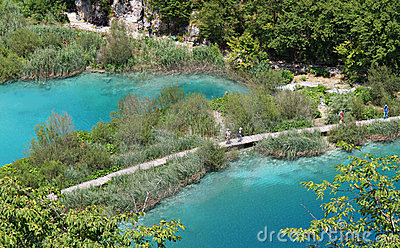 Plitvice National Park Editorial Stock Image
