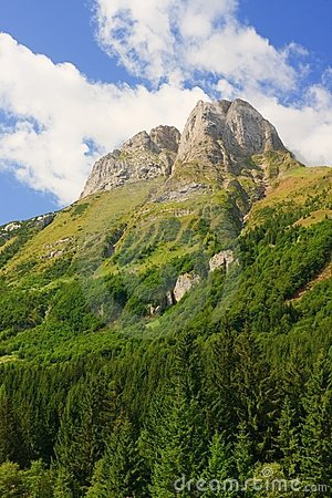 Ploeckenpass Mountain, Austrian Alps
