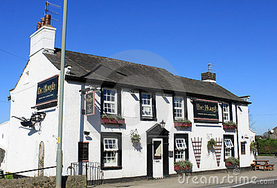 The Plough Village Pub Galgate Lancashire England Editorial Image