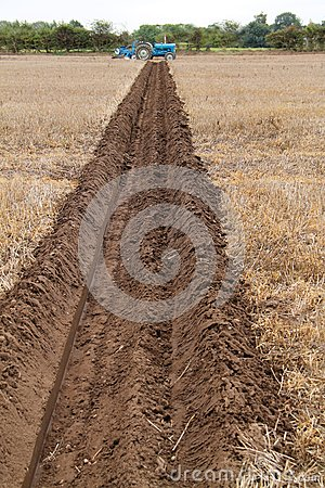 Ploughed Field Furrow.