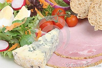 Ploughmans Lunch with Stilton