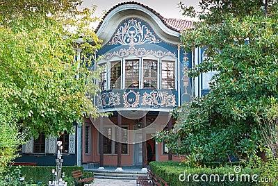 PLOVDIV, BULGARIA - JANUARY -The Regional Museum