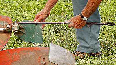 Plow plough adjustments