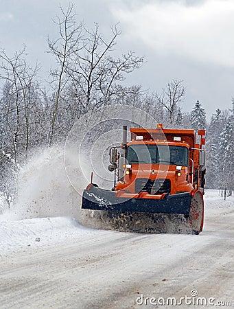 Plow Truck Coming