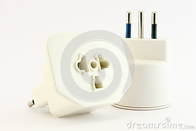 Plug and socket unplugged