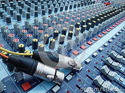 Plug and volume control knob