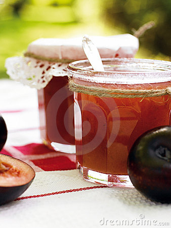 Free Plum Jam Royalty Free Stock Image - 10325646