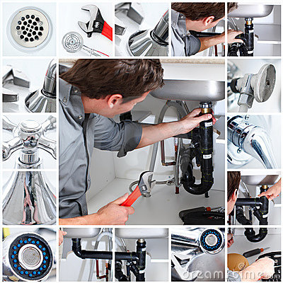 Free Plumber Royalty Free Stock Photography - 14270987