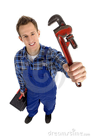 Free Plumber Royalty Free Stock Photography - 6699407