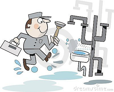 Plumber cartoon