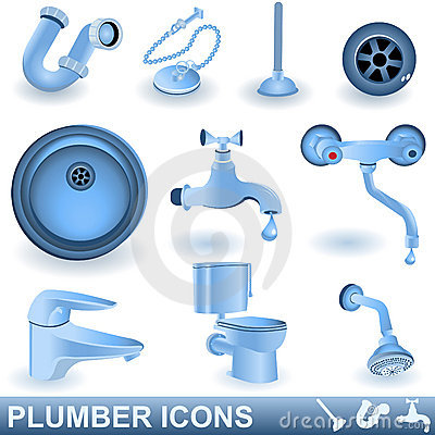 Plumber icons
