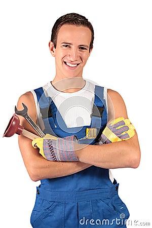 Plumber trainee