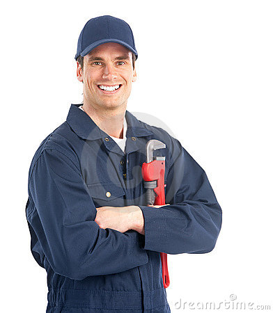 Free Plumber Worker Stock Image - 13439301