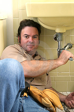 Free Plumber Working Stock Photo - 141940