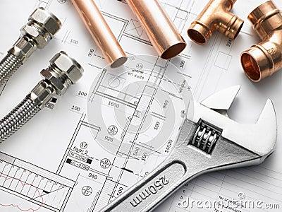Plumbing Equipment On House Plans