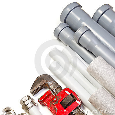 Free Plumbing Supplies Royalty Free Stock Photos - 17254398