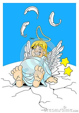 Plump angel