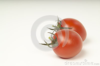 Plump tomatoes