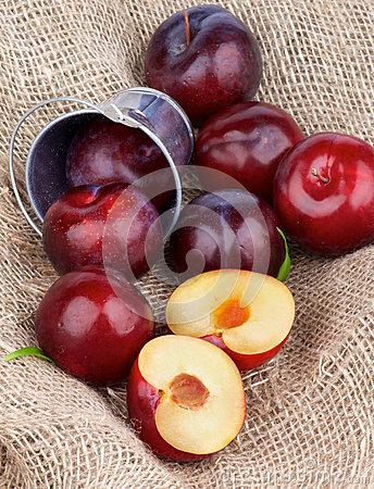 Free Plums Royalty Free Stock Images - 35624799
