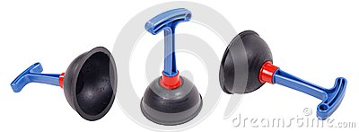 Plunger set on an isolated