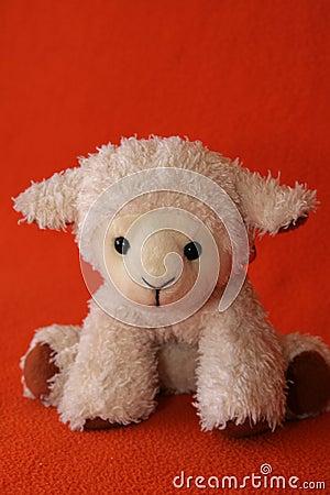 Plush lamb #2