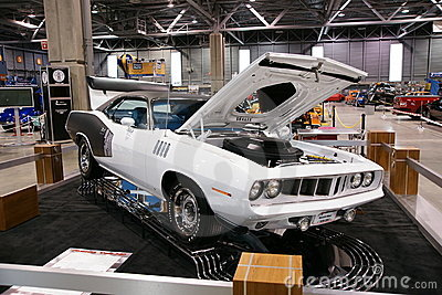 Plymouth Cuda Editorial Photo