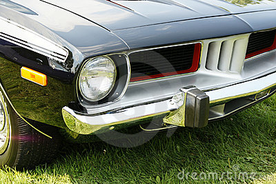 Plymouth Cuda Front End