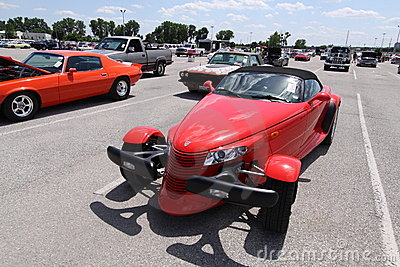 Plymouth Prowler Black Tie Edition 1999 Editorial Stock Photo
