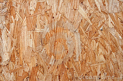 Plywood close up