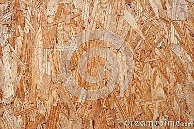 Plywood close up