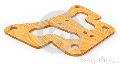 Plywood part