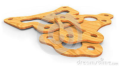 Plywood parts