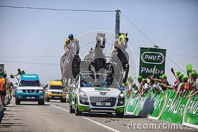 The PMU Vehicle Editorial Photography
