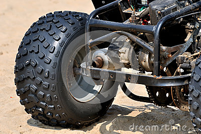 Pneumático poderoso da motocicleta da areia da praia