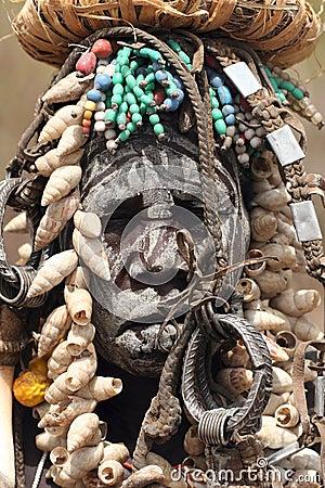 Población de África Foto editorial