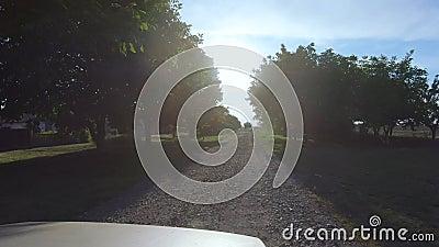 Poblado rural almacen de metraje de vídeo