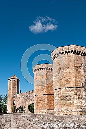 Poblet Monastery, Tarragona Province, Spain