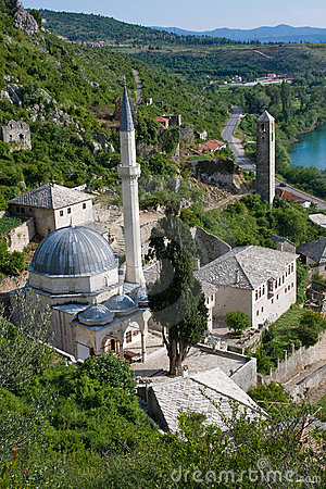Free Pocitelj Mosque Royalty Free Stock Photo - 5272145